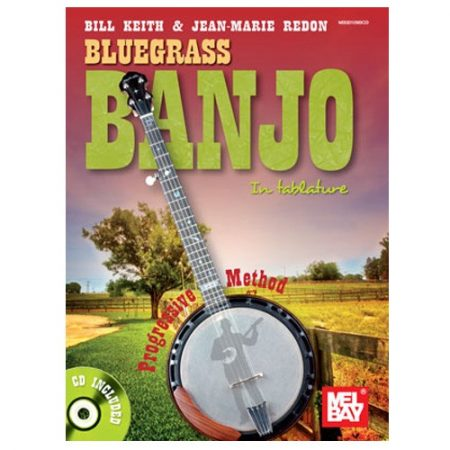 BLUEGRASS BANJO IN TABLATURE BOOK AND CD