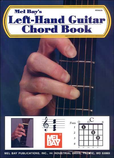 Left Hand Guitar Chord Book Penny Lane Emporium