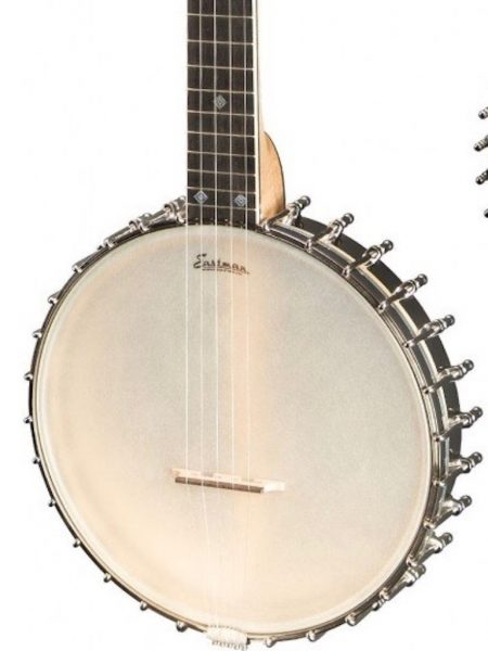 EASTMAN EBJ-WL1 WHYTE LAYDIE OPEN BACK 5 STRING BANJO WITH HARDSHELL CASE