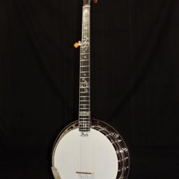 PRUCHA AB SPIRIT ALISON BROWN SIGNATURE MODEL 5 STRING BANJO WITH CASE