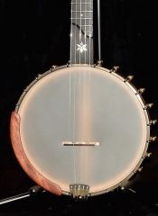 OME MIRA 5 STRING OPEN BACK BANJO WITH CASE