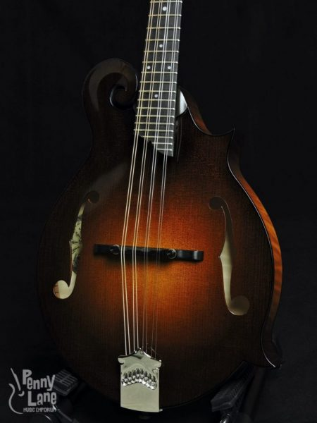 COLLINGS MF GLOSS TOP ADIRONDACK SPRUCE F-STYLE MANDOLIN WITH CASE