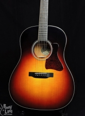 COLLINGS CJ MH JUMBO SLOPE SHOULDER DREADNOUGHT ACOUSTIC GUITAR WITH CASE – USED