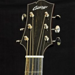 COLLINGS CJ MH JUMBO SLOPE SHOULDER DREADNOUGHT ACOUSTIC GUITAR WITH CASE - USED
