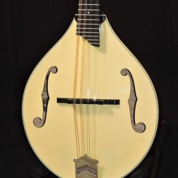 COLLINGS MT GLOSS CREAM TOP A STYLE MANDOLIN WITH HARDSHELL CASE
