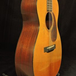 PRE-WAR GUITARS OM ORCHESTRA MODEL ACOUSTIC GUITAR WITH CASE DISTRESS LEVEL 2