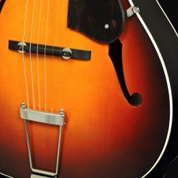 WATERLOO WL-AT SUNBURST ACOUSTIC ARCHTOP GUITAR WITH CASE