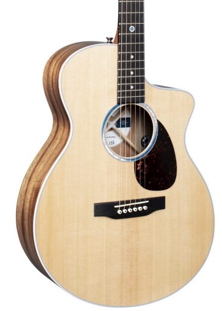 MARTIN SC-13E CUTAWAY ACOUSTIC ELECTRIC GUITAR WITH CASE