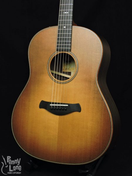 TAYLOR 717E WHB V-CLASS BUILDERS EDITION ACOUSTIC ELECTRIC GRAND PACIFIC GUITAR WITH CASE
