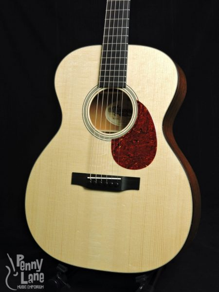 PRESTON THOMPSON OM-MA ACOUSTIC ORCHESTRA MODEL GUITAR WITH CASE