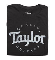 Mens Distressed Taylor Logo T-Shirt