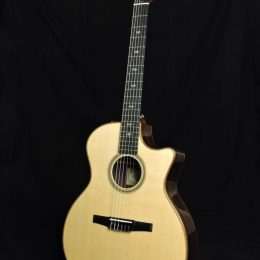TAYLOR 714CE-N ACOUSTIC ELECTRIC NYLON STRING GRAND AUDITORIUM GUITAR WITH CASE