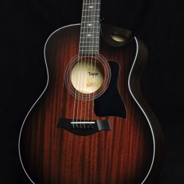 USED TAYLOR 326CE MAHOGANY TOP ACOUSTIC ELECTRIC GRAND SYMPHONY GUITAR WITH CASE