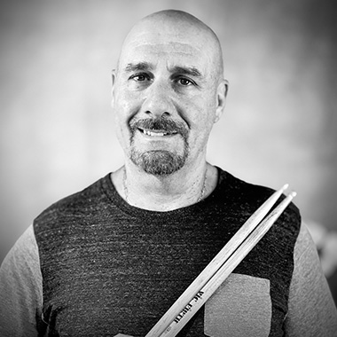 Randy Robins teaches drums (all levels)