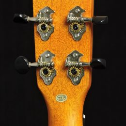 Ohana CK-14CL Back Headstock Close