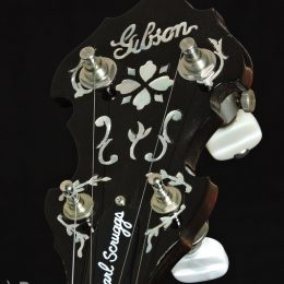 Used 1997 Gibson Earl Scruggs Mastertone Front Headstock Close