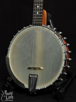 Used ODE Long Neck Banjo Front Close