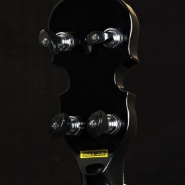 Gold Tone ML-1 Back Headstock Close