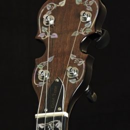Gold Tone ML-1 Front Headstock Close