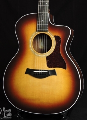 TAYLOR 214CE-K SB KOA ACOUSTIC ELECTRIC GRAND AUDITORIUM GUITAR WITH GIG BAG – DEMO
