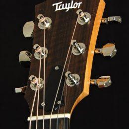 Taylor GS Mini-e Koa Plus Front Headstock Close