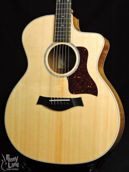 Taylor Used-214ce-K DLX Front Close