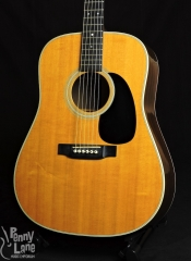USED 2002 MARTIN D-28 ACOUSTIC DREADNOUGHT GUITAR WITH CASE