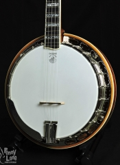 DEERING TONY TRISCHKA SILVER CLIPPER 5 STRING RESONATOR BANJO WITH CASE