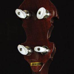 Gold Tone OB-3 Back Headstock Close