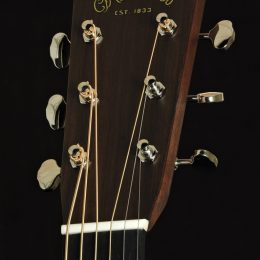 Martin D-28 Front Headstock Close