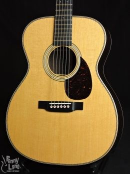 Martin OM-28 Modern Deluxe Front Close-1