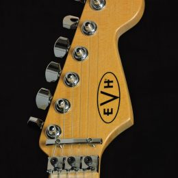 Used EVH MIM Standard Front Headstock Close