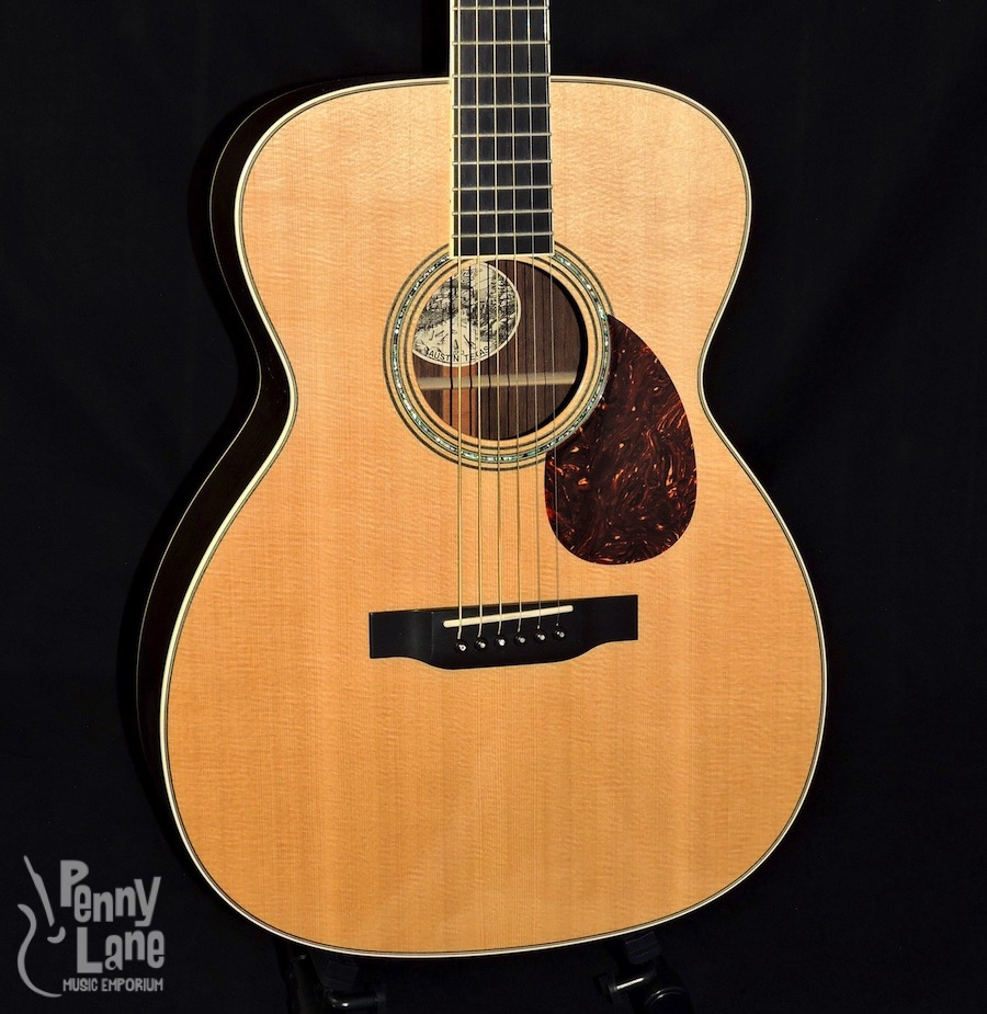 used 2008 collings om3 acoustic electric guitar with case penny lane emporium. Black Bedroom Furniture Sets. Home Design Ideas