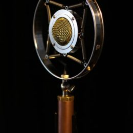 EAR TRUMPET LABS MYRTLE VINTAGE STYLE SUSPENDED LARGE DIAPHRAGM CONDENSER MICROPHONE