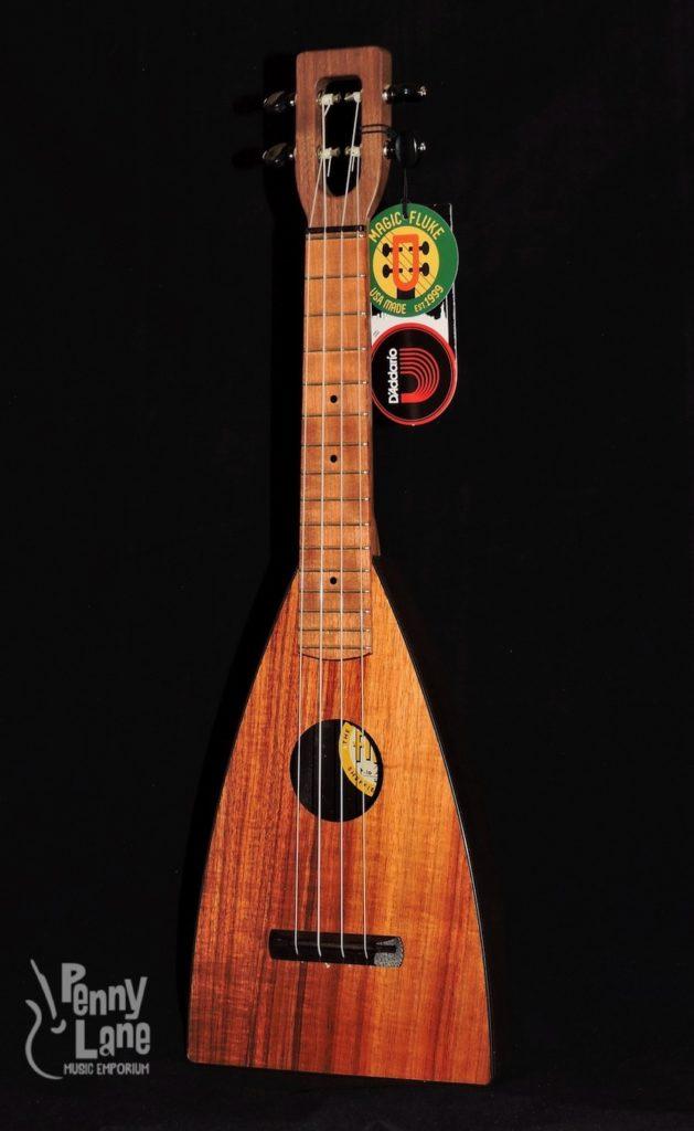 Magic Fluke M10 Solid Hawaiian Koa Concert Fluke Ukulele