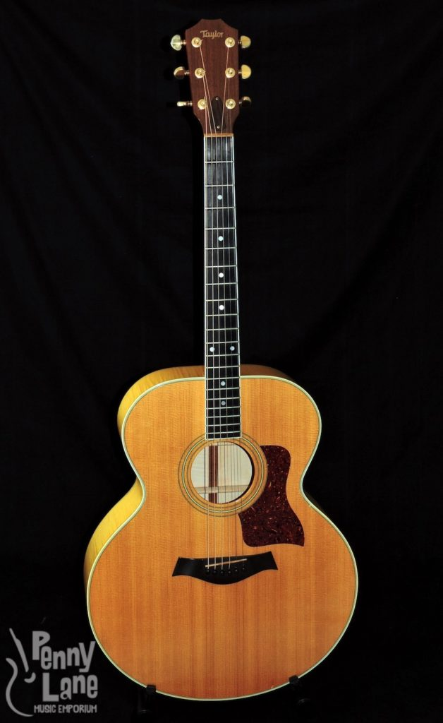 USED 1987 TAYLOR 615 JUMBO ACOUSTIC GUITAR WITH CASE